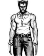 Coloriage Wolverine