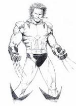 Coloriages Wolverine Bonjour Les Enfants