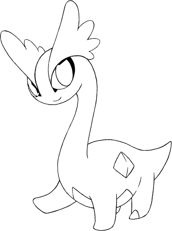 pokemon coloring pages talonflame xy | Coloriage Pokemon X et Y : Amagara 1