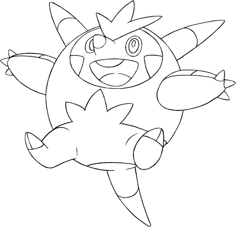 Greninja Pokemon Coloring Coloring