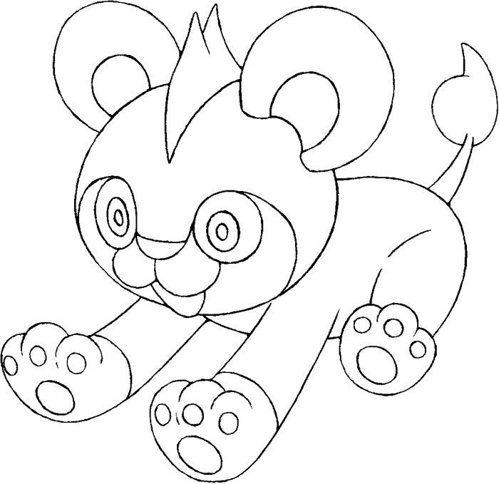 pokemon xy coloring pages - coloriage pokemon x et y h lionceau 1
