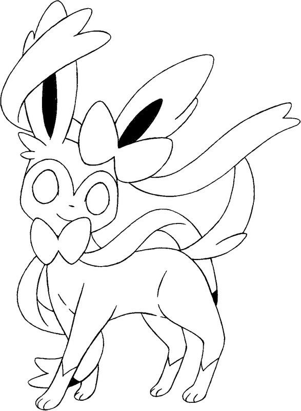Pokemon Coloring Pages And Y : Comment dessiner un pokemon et y