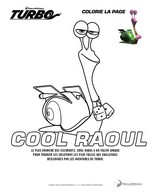 Coloriage Cool Raoul