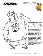 Coloriage Tito