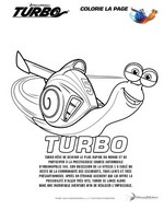 Coloriages turbo coloriage - Coloriage escargot turbo ...