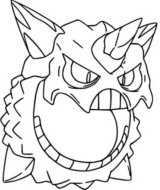 Coloriage pokemon mega evolues mega oniglali 362 362 for Pokemon coloring pages mega ex