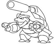 Coloriage Mega Tortank 9