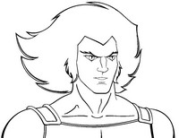Coloriage Lion-o