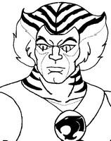 Coloriage Tigro