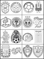 Coloriage 8èmes de finale de la coupe du monde