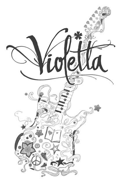 coloriage guitare