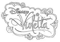 Coloriage Violetta