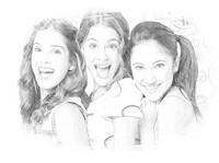 Coloriage Violetta, Fran, Cami