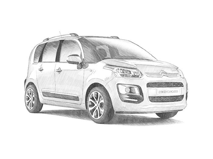 Coloriages Voitures Citroën Bonjour Les Enfants