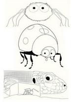 Coloriage Minuscule: la vallée des fourmis perdues