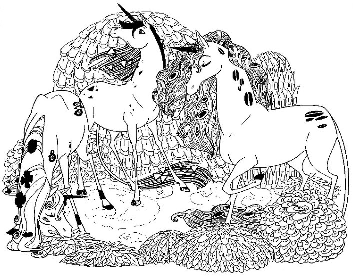 mia and me coloring pages - photo#33