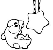 Coloriage Cut the Rope