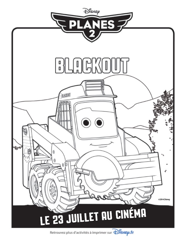 Coloriage Blackout