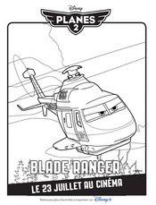 Coloriage Blade Ranger