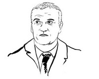 Coloriage Deschamps entraîneur