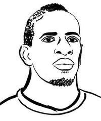 Coloriage Mamadou Sakho