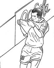 Coloriage Zinédine Zidane