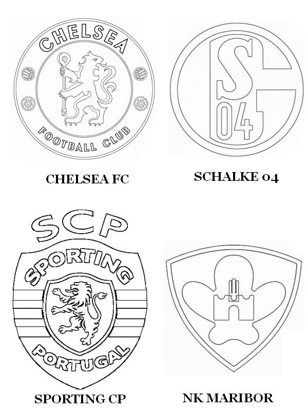 coloriage ligue des champions 2015 groupe g chelsea fc
