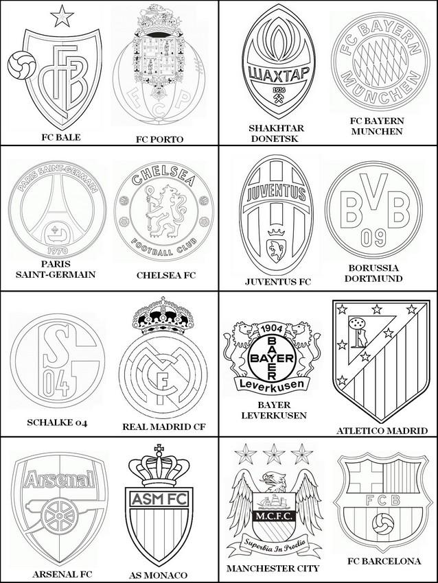 Kleurplaten Voetbal Juventus.Kleurplaat Logo Juventus Woyaolu Info