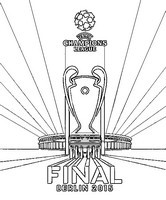 Coloriages ligue des champions 2015 coloriage - Finale coupe de la ligue des champions ...