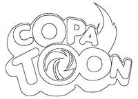 Coloriage Logo Copa Toon
