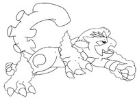 Coloriage Pokémon forme alternative 645 Demeteros