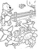 Online coloring page Summer