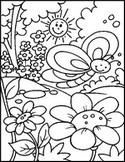 Coloriage en ligne Papillon