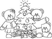 Coloriage en ligne Sapin de Noël