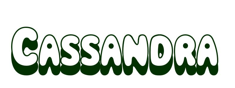 Coloriage Pr 233 Nom Cassandra