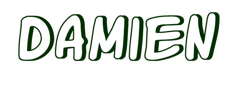 Coloriage Pr 233 Nom Damien
