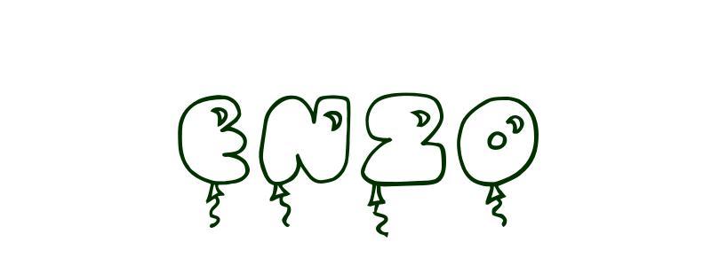 Coloriage Pr 233 Nom Enzo