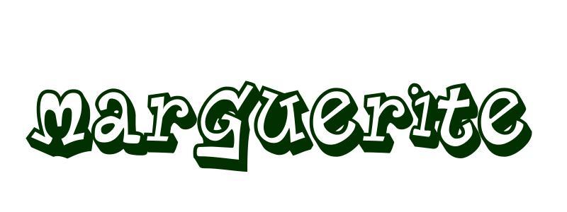 Coloriage pr nom marguerite - Coloriage marguerite ...