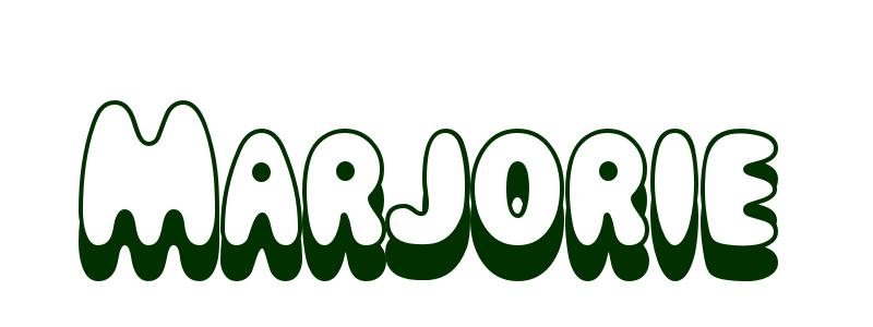 Coloriage pr nom marjorie - Prenom marjorie ...