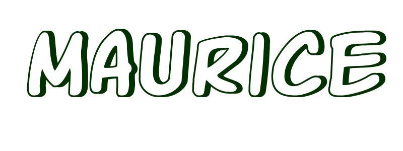 Coloriage Pr 233 Nom Maurice