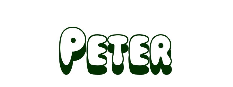 Coloriage Peter