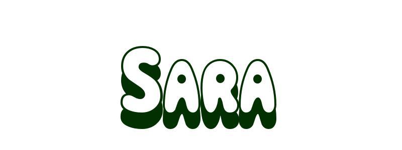 Coloriage Pr 233 Nom Sara