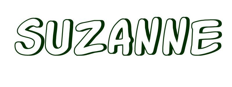 Coloriage Pr 233 Nom Suzanne