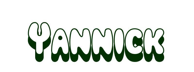 Coloriage Pr 233 Nom Yannick