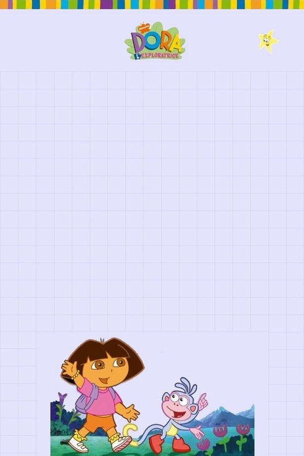 Papier à lettre Dora