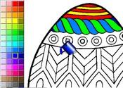 Coloriage Paques En Ligne.Paques Avec Les Enfants