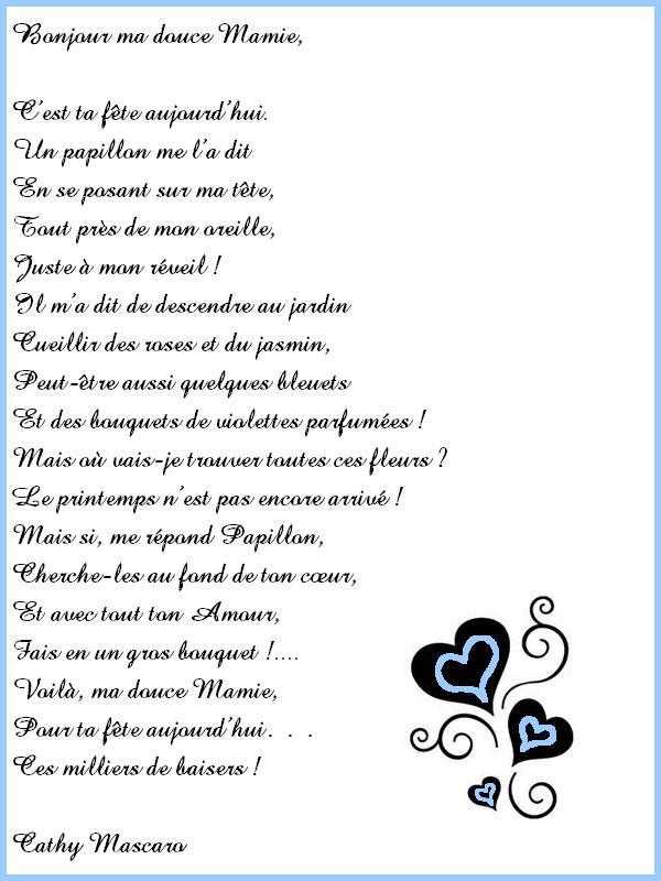 Fête Des Grand Mères Cartes Poèmes Page 3 Vie Quotidienne