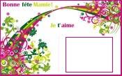 carte de fête des grand mère