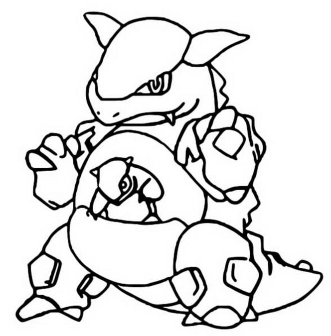 Coloriages Pokemon Kangourex Dessins Pokemon