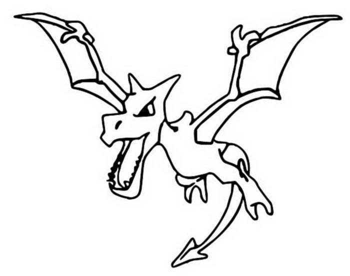 Coloriages pokemon ptera dessins pokemon - Pokemon ptera ...